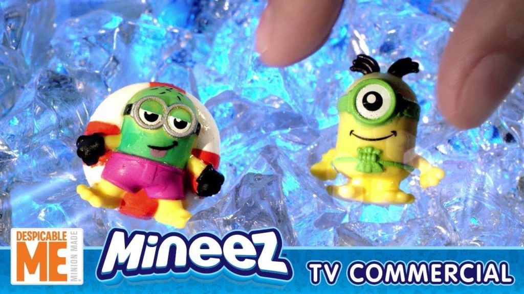 Fun Toy Kids Television TV Commercial Despicable Me Mineez Fizz and Surprise