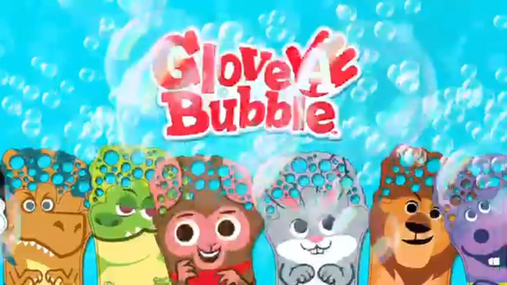 Fun Toy Kids Television TV Commercial Glove A Bubble by Zing